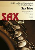 Eugene Rathner (arr.): Sax Trios