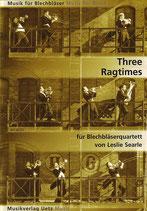 Leslie Searle: Three Ragtimes