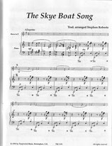 Stephen Roberts (arr.): The Skye Boat Song