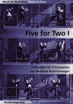 Manfred Bockschweiger (arr): Five For Two I