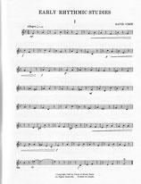 David Uber: Early Rhythmic Studies