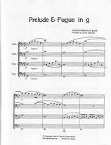 Johann Sebastian Bach: Prelude & Fugue in G minor