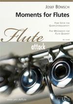 Josef Bönisch: Moments for Flutes