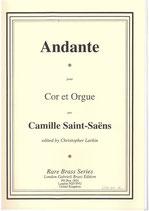 Camille Saint-Saens: Andante