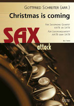 Gottfried Schreiter (arr.): Christmas is coming