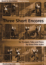 Ernst-Thilo Kalke: Three Short Encores