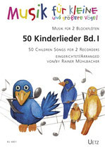 Rainer Mühlbacher (arr.): 50 Kinderlieder
