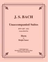 Johann Sebastian Bach: Suites BWV 1007-12