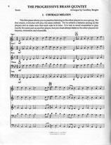 Geoffrey Bergler (arr.): The Progressive Brass Quintet