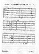 Wolfgang Amadeus Mozart: Cosi Fan Tutte Overture