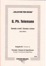 Georg Philipp Telemann: Sonate c-moll