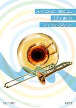 Antonio Sicoli: 23 studies for trombone