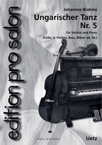 Johannes Brahms: Ungarischer Tanz Nr. 5