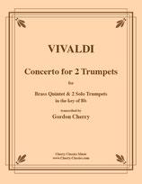 Antonio Vivaldi: Concerto für 2 Trompeten