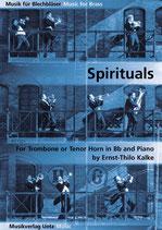 Ernst-Thilo Kalke (arr.): Spirituals