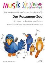 Joachim Kunze: Der Posaunen-Zoo (mit CD)