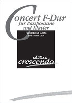 Friedebald Gräfe: Concert F-Dur