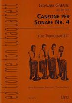 Giovanni Gabrieli: Canzone per Sonare Nr. 4