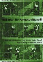Friedel W. Böhler (arr.): Italienisch für Fortgeschrittene III