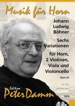 Johann Ludwig Böhner: 6 Variationen op. 24