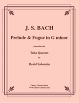 Johann Sebastian Bach: Prelude & Fugue in G minor