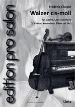 Frédéric Chopin: Walzer cis-Moll