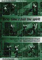 Claus-Erhard Heinrich (arr.): Ev'ry time I feel the spirit