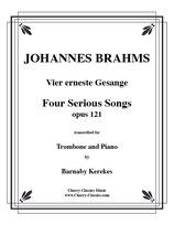 Johannes Brahms: Vier ernste Gesänge