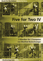 Manfred Bockschweiger (arr): Five For Two IV