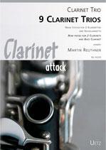 Martin Reuther: 9 Clarinet Trios
