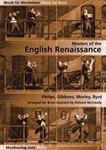 Richard McCready (arr.): Masters of the English Renaissance