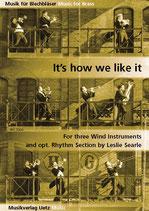 Leslie Searle: It's how we like it