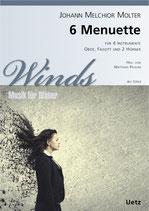 Johann Melchior Molter: 6 Menuette