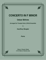 Oskar Böhme: Concerto in F Minor