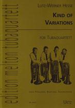 Lutz-Werner Hesse: Kind of variations