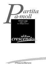 Anton Logy: Partita a-Moll