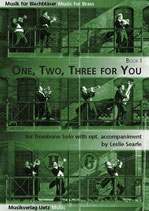 Leslie Searle: One, Two, Three For You Book I