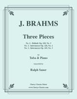 Johannes Brahms: Drei Stücke
