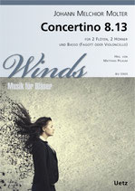 Johann Melchior Molter: Concertino MWV 8.13