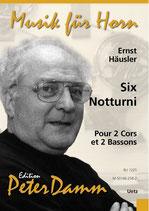 Ernst Häusler: Six Notturni