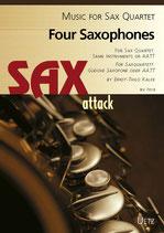 Ernst-Thilo Kalke (arr.): Four Saxophones I