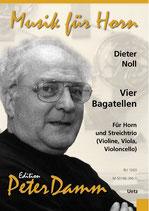 Diether Noll: Vier Bagatellen