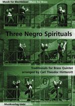 Carl Theodor Hütterott (arr.): 3 Negro Spirituals