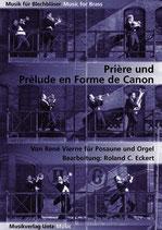 René Vierne: Prière und Prélude en Forme de Canon
