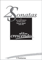 Daniel Speer: 2 Sonatas