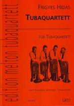 Frigyes Hidas: Tubaquartett