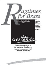 Ulrich Schultheiss: Ragtimes for Brass
