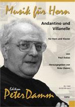 Paul Dukas: Andantino und Villanelle