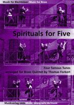 Thomas Forkert (arr.): Spirituals for Five