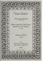 Johann Jacob Schnell: Kleine angenehme Tafelmusik (Band I)